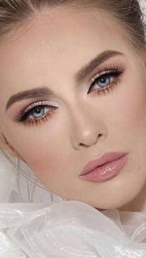 35 Inspirations Makeup Wedding For Blue Eyes 17