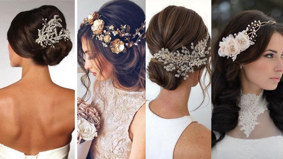 40 How Elegant Wedding Hair Accessories Ideas 42