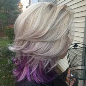 50 Best Peek A Boo Hair Color Ideas 04
