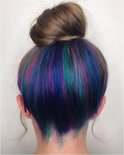 50 Best Peek A Boo Hair Color Ideas 21