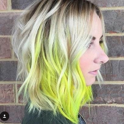 50 Best Peek A Boo Hair Color Ideas 30