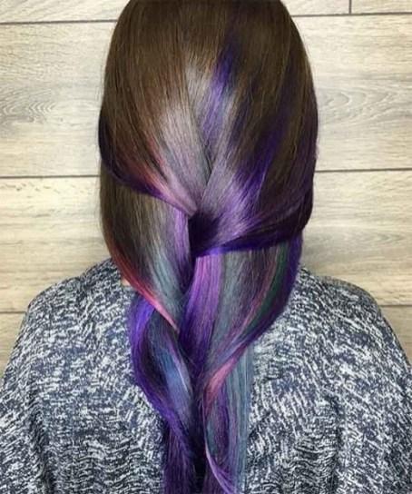 50 Best Peek A Boo Hair Color Ideas 34
