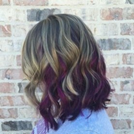 50 Best Peek A Boo Hair Color Ideas 36