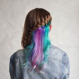 50 Best Peek A Boo Hair Color Ideas 37