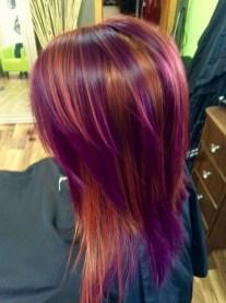 50 Best Peek A Boo Hair Color Ideas 42
