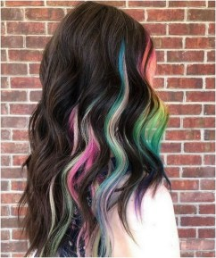 50 Best Peek A Boo Hair Color Ideas 52