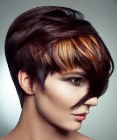 50 Best Peek A Boo Hair Color Ideas 54