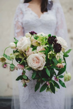 Best Romantic Peony Wedding Bouquet Inspiration 20