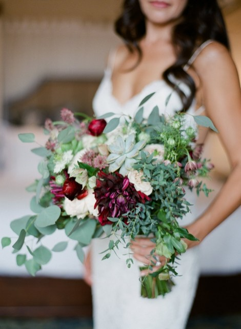 Best Romantic Peony Wedding Bouquet Inspiration 34