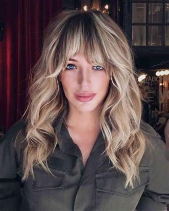 Curtain Bangs Hair Styles Ideas 37