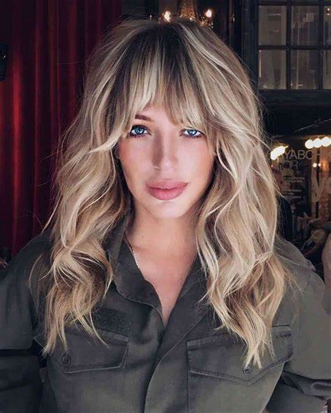 Curtain Bangs Hair Styles Ideas 37