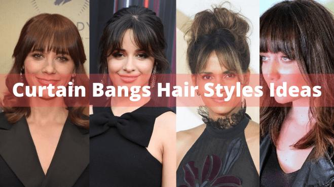 Curtain Bangs Hair Styles Ideas