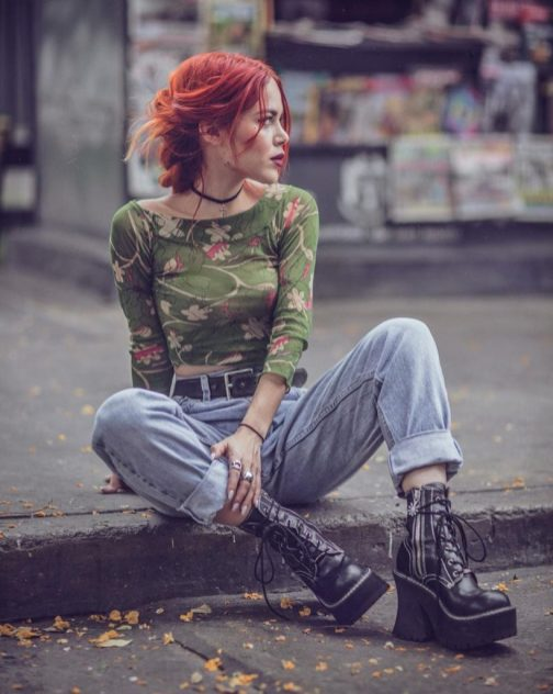 Grunge Outfits Casual Ideas in 2021 11