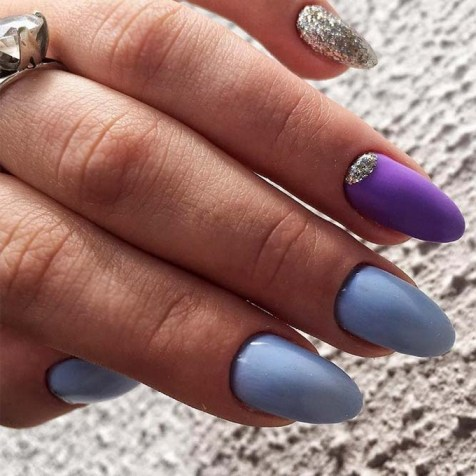 Inspiring Almond Shaped Nail for Girls 14