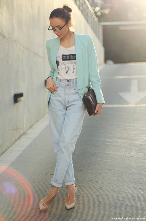 Mom Jeans Outfits Ideas for 2021 16