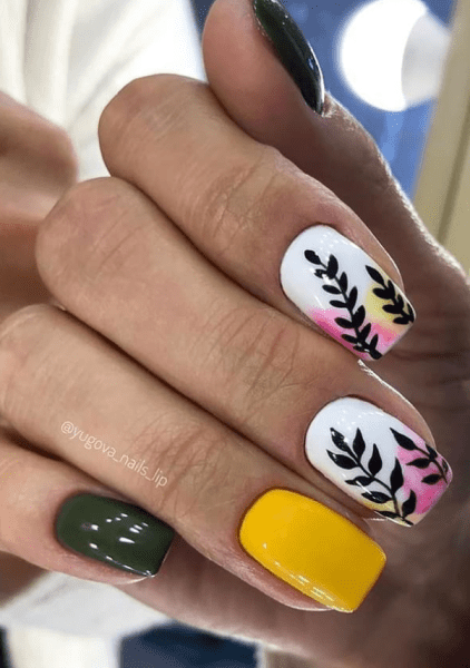 Spring Nail art Design and Colors Ideas For 2021 03