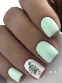 Spring Nail art Design and Colors Ideas For 2021 15