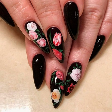 Spring Nail art Design and Colors Ideas For 2021 30