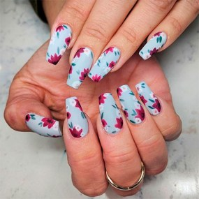 Spring Nail art Design and Colors Ideas For 2021 31