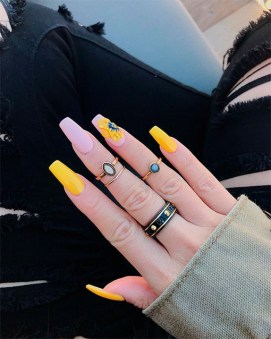 Spring Nail art Design and Colors Ideas For 2021 35