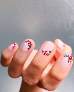 Spring Nail art Design and Colors Ideas For 2021 41