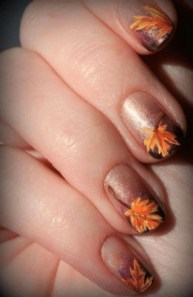 20 Adorable Fall Nail Art Ideas 04