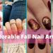 20 Adorable Fall Nail Art Ideas 22