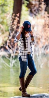 30 Stylish fall boots women outfit ideas 19