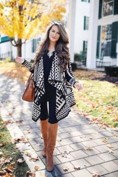 30 Stylish fall boots women outfit ideas 24