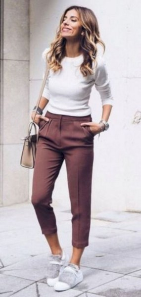 45 Fashionable Fall Outfits This Year 13