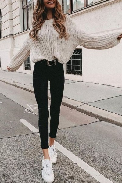 45 Fashionable Fall Outfits This Year 19