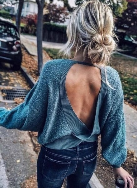 45 Fashionable Fall Outfits This Year 20