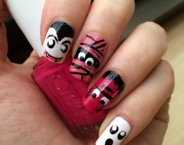 50 Cute Halloween Nail Art You Will Love 17