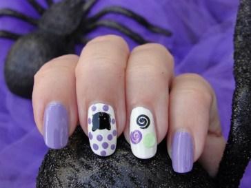 50 Cute Halloween Nail Art You Will Love 18