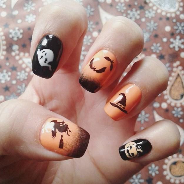 50 Cute Halloween Nail Art You Will Love 21