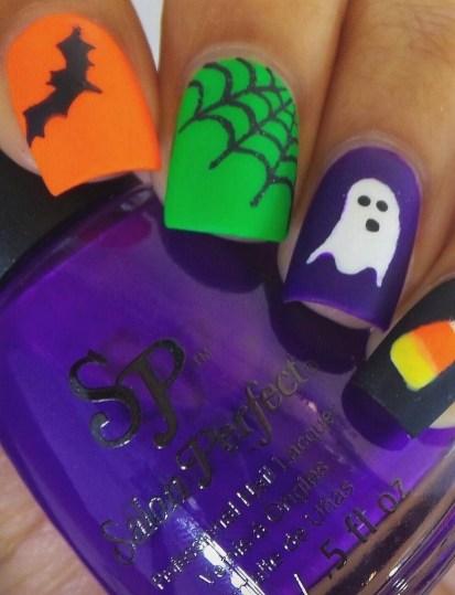 50 Cute Halloween Nail Art You Will Love 25