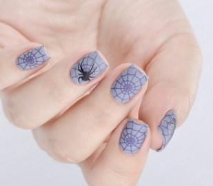 50 Cute Halloween Nail Art You Will Love 32