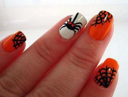 50 Cute Halloween Nail Art You Will Love 44