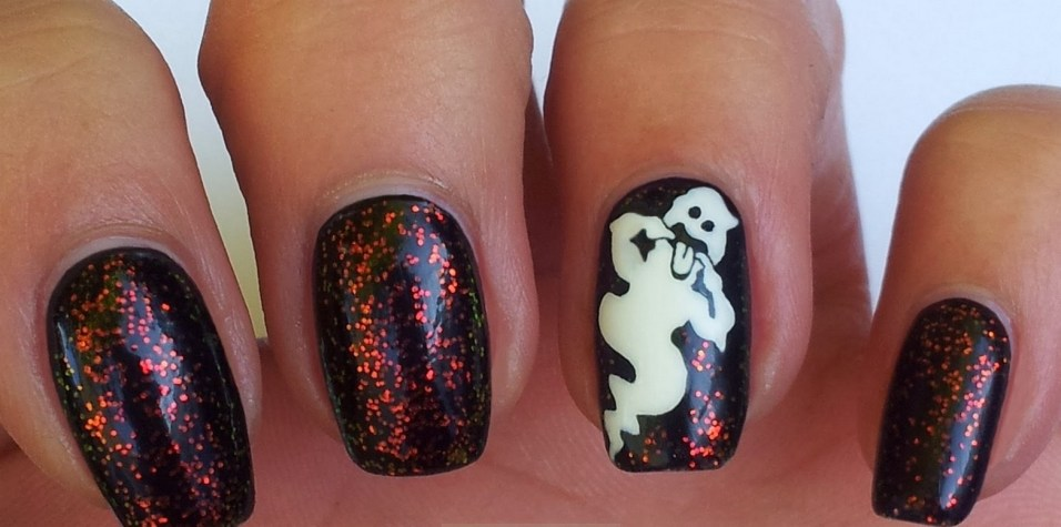 50 Cute Halloween Nail Art You Will Love 53