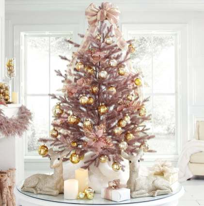 70 Catchy Silver and Gold Christmas Trees Decor You Need to See 70