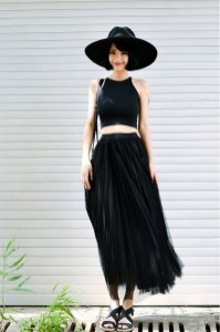 40 Simple Glam Black Tulle Skirt Outfits Ideas 24
