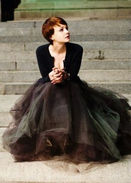 40 Simple Glam Black Tulle Skirt Outfits Ideas 42