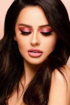 49 Ideas Glam Valentines Night Makeup Look 11