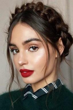 49 Ideas Glam Valentines Night Makeup Look 15