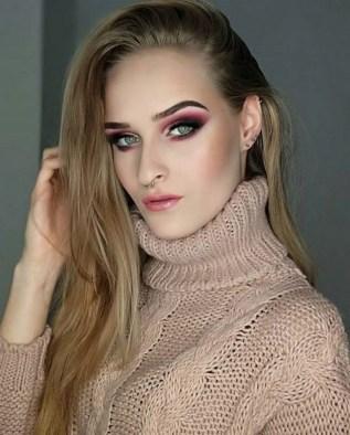 49 Ideas Glam Valentines Night Makeup Look 5