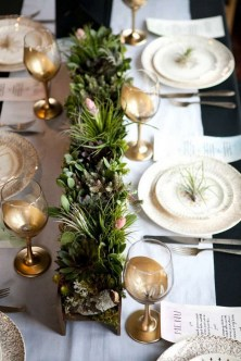 50 How to Arrange a Dining Table for Christmas Occasion 36