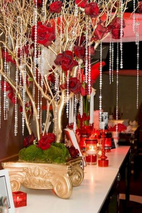 50 Romantic Valentines Party Decoration You Need to See 16