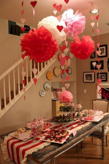50 Romantic Valentines Party Decoration You Need to See 43
