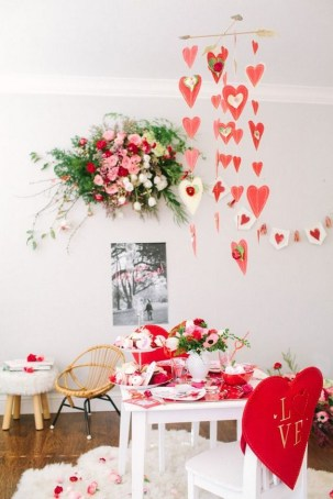 50 Romantic Valentines Party Decoration You Need to See 47