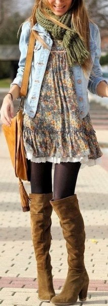 50 Stylish and Comfy Winter Dresses Ideas 13
